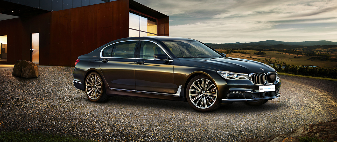 commercial image of bmw7 for rental in chiang mai_chinese