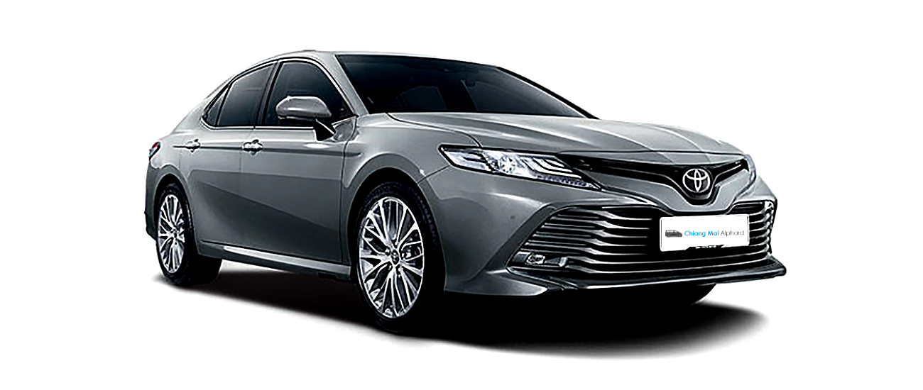 toyota camry for rental in chiang mai. Low rental price.