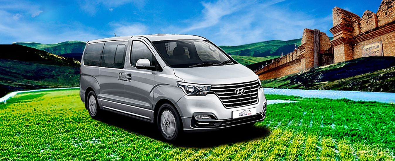 (English) hyundai h1 for rental in chiangmai brand new car 2019 exterior right side view